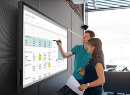 Dell tiene un nuevo y gigantesco monitor táctil de 70 pulgadas con soporte para Chrome OS