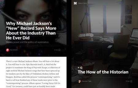 Medium actualiza su aplicación para iOS y entra en el iPad