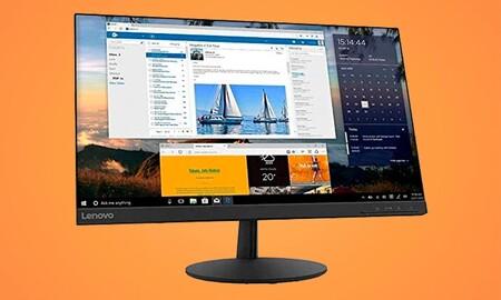 Este monitor 2K sin marcos te sale 40 euros más barato ahora en PcComponentes: Lenovo L24q-30 por 179,99 euros