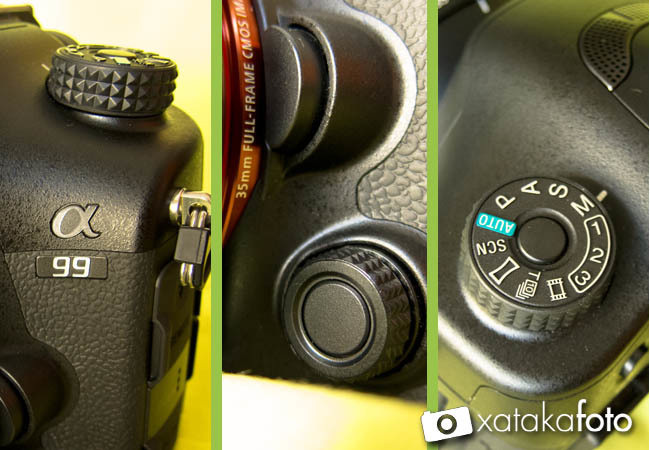 Sony A99 detalles