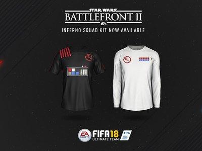 FIFA 18 se suma a la fiebre de Star Wars regalando equipaciones conmemorativas para el Ultimate Team