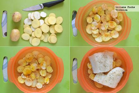 Bacalao con Patatas. Pasos