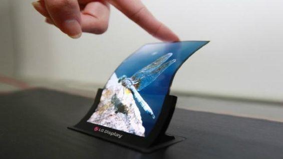 lg pantalla flexible oled