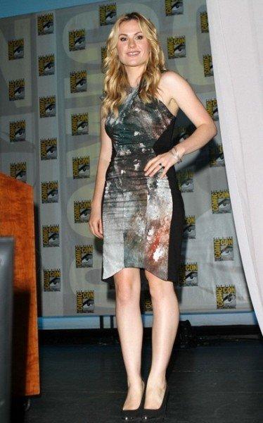 Los mejores looks de famosas en la Comic Con. Anna Paquin