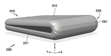 Samsung Galaxy X Patent D