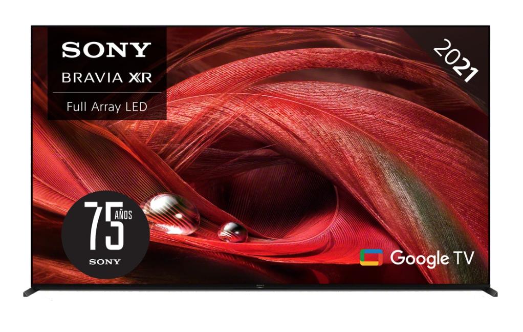 "Sony XR-75X95J BRAVIA XR FULL ARRAY TV LED 190,50 cm (75""), Google TV, 4K HDR, XR Cognitive Processor y XR Triluminos Pro"