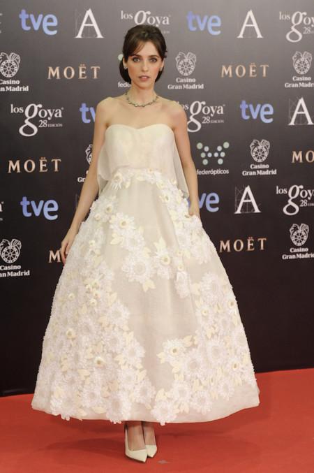 Leticia Dolera Premios Goya 2014