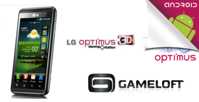 LG regalará 14 juegos con el Optimus 3D Gaming Edition