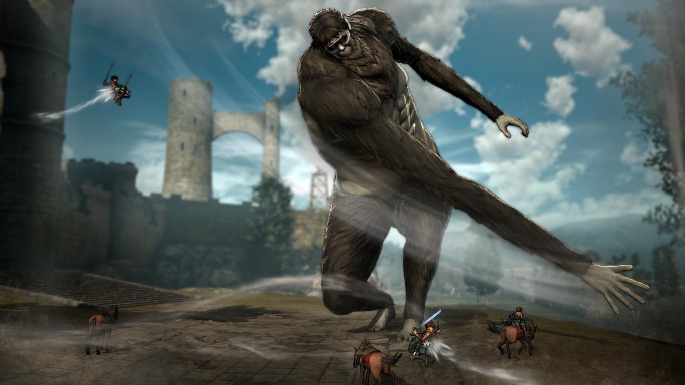 El Argumento De Attack On Titan Wings Of Freedom Irá Más