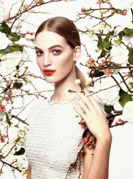 Vanessa Axente será el nuevo rostro de la campaña primavera-verano 2015 de Chanel
