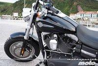 Harley Davidson Dyna Fat Bob, prueba (conducción en autopista y pasajero)