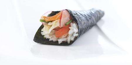 Temaki Sushi Con Salmon Noruego Fresco Top Regular