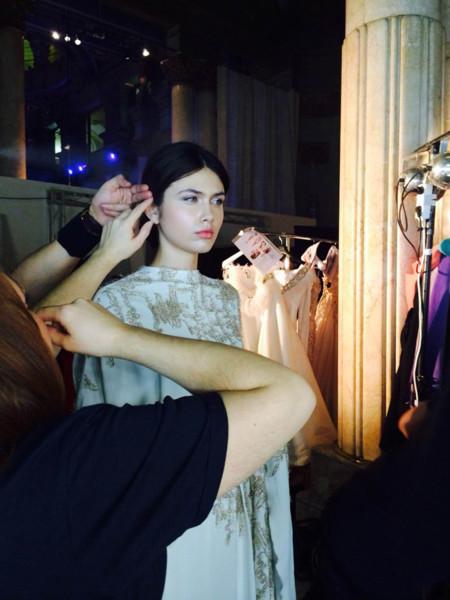 Modelo en backstage