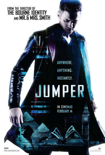 Nuevo póster de 'Jumper', con Hayden Christensen