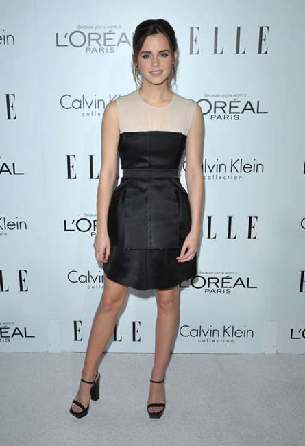 fiesta Elle Women in Hollywood 2012 emma watson