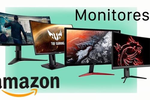 Estos son los 9 monitores de PC más vendidos en Amazon y casi todos están rebajados