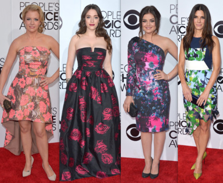 People choice awards 2014 alfombra roja