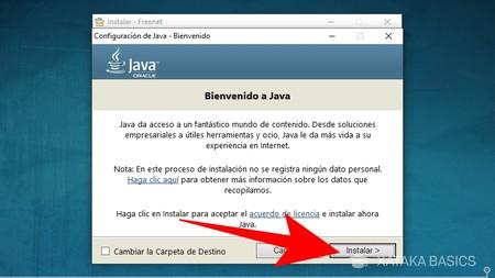 Instala Java