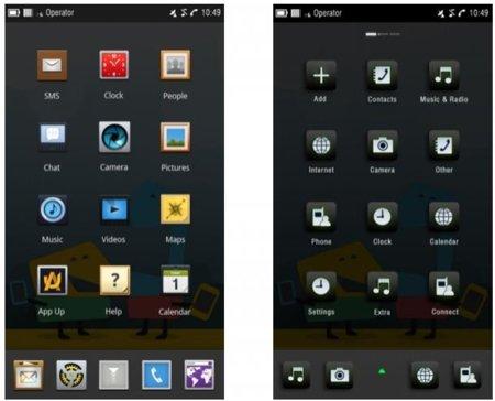 Nuevas imágenes de MeeGo para teléfonos móviles
