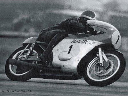 Giacomo Agostini y la MV Agusta
