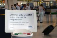 Aeropuertos españoles te preguntan si estás conforme con su servicio ¿Sirve de algo?