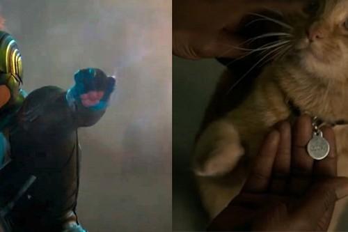 """Las claves del nuevo tráiler de 'Capitana Marvel': la forma binaria, el """"gato"""" Goose y otros misterios revelados"""