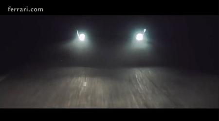 Ferrari 458M, video teaser
