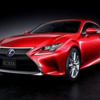 El nuevo coupé híbrido de Lexus se llama:RC 300h
