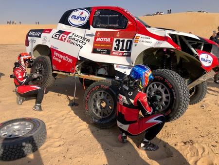 Alonso Accidente Dakar 2020