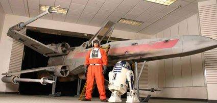 Hazte con un caza de Star Wars