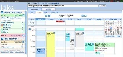 Kiko, el calendario online, de venta en Ebay