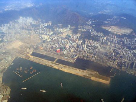 Llegada a Honk Hong