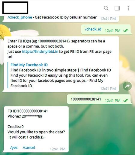 Números Teléfono Facebook