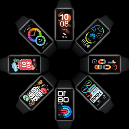 Huawei Band 6 Watch Face Left 2x