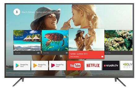 Outlet Days: Smart TV 4K de 49 pulgadas Thomson 49UC6406, con Android TV, por 449 euros