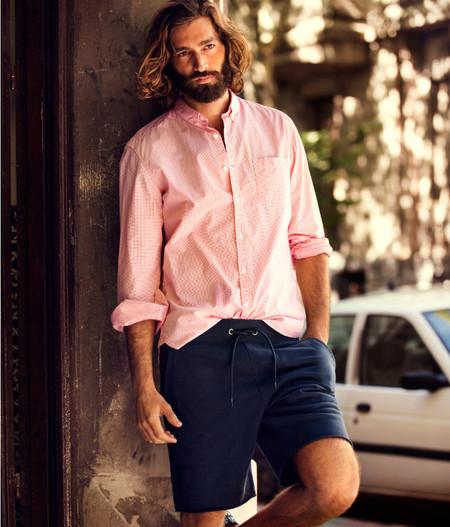 Camisa rosa H&M