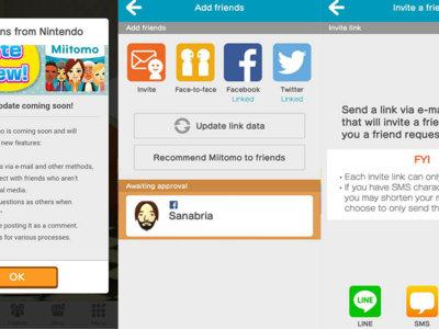 Ya puedes añadir amigos en Miitomo por mail, LINE y SMS