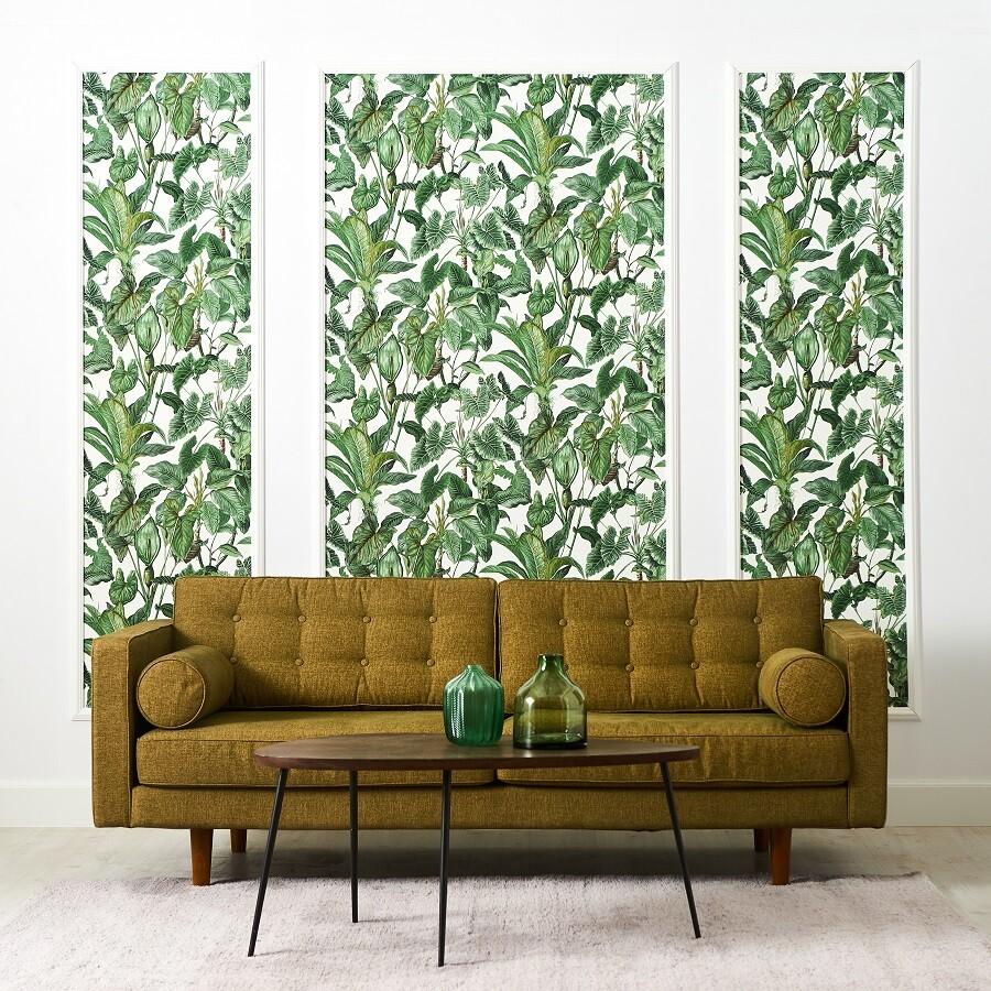 Papel pintado tropical