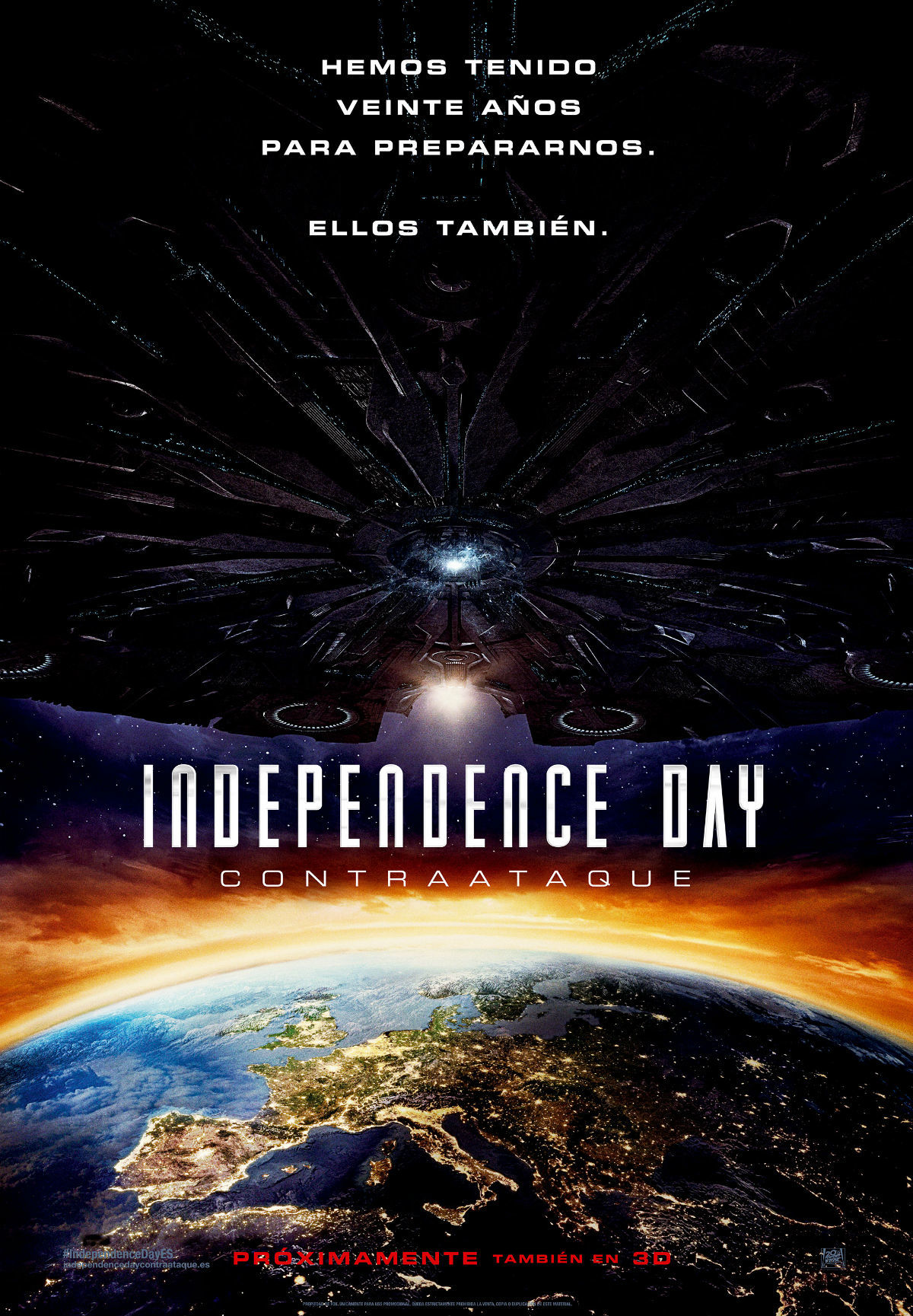'Independence Day: Contraataque', carteles