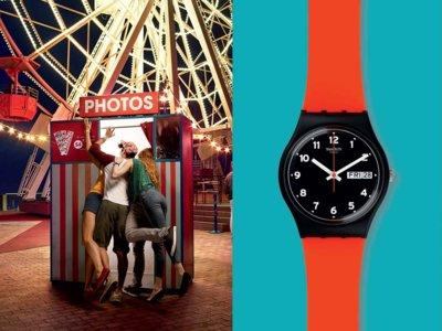 La hora del estilo: Red Grin de Swatch