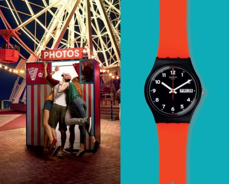 La hora del estilo: Red Grin de Swatch
