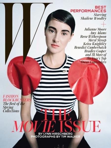 W Magazine Shailene