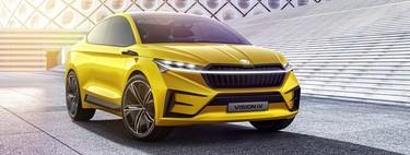 Škoda ya prueba su primer SUV eléctrico: derivará del Škoda Vision iV concept con 500 km de autonomía