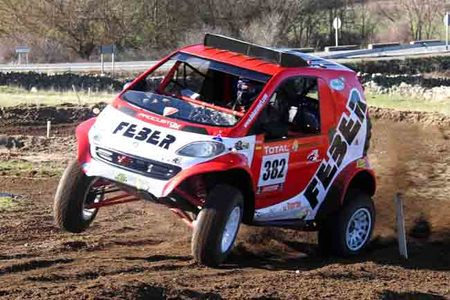 Algo más sobre el Smart Buggy para el Dakar