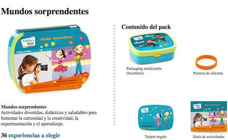 ¿No quieres regalar juguetes por Navidad? Kiddy's Box sorprende con dos nuevas cajas de experiencias para niños