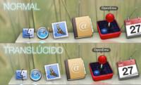 Cómo hacer translúcido el dock de OS X Mavericks
