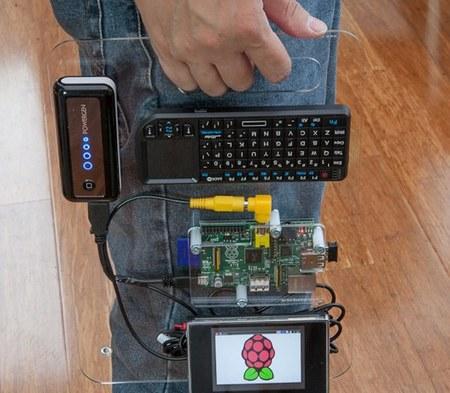 Un Raspberry Pi portátil