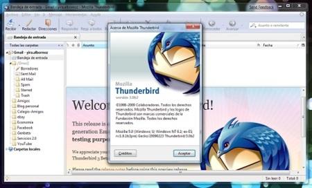 Thunderbird 3 Beta 2 ya se puede descargar