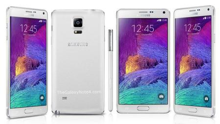 Galaxy Note 4 Frost White