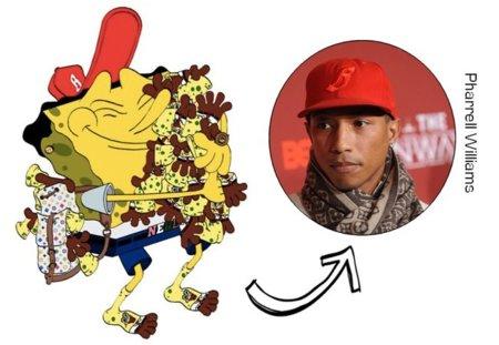 Pharrell Williams Bob Esponja
